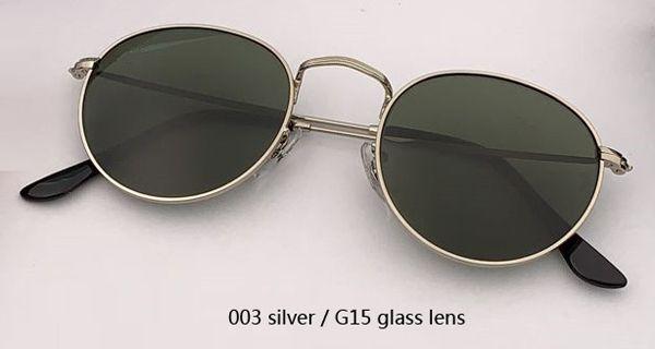 003 prata / verde clássico G15