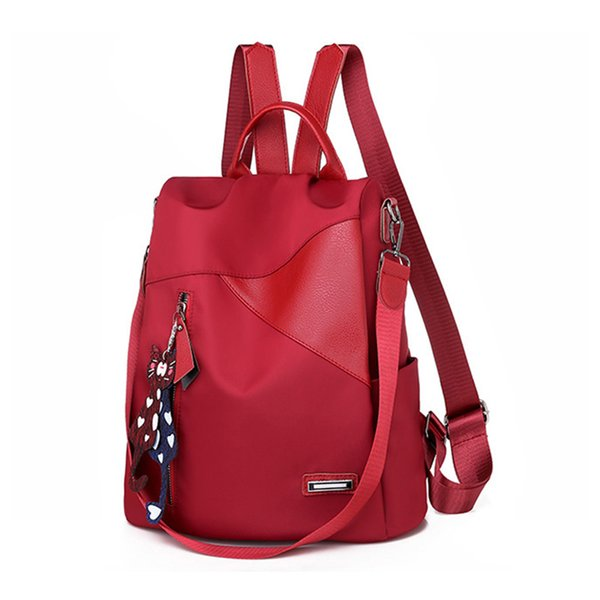 top popular 2019 High Quality Women Backpack New Fashion Women Backpacks School Bag for Teenagers Backpack Ladies Bags Luxury Designer 2020