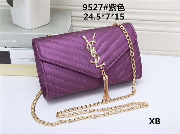 New Fashion men women handbags ladies wallet Good quality Leather Unisex Clutch Bags HY609527 Lady's shoulder bag