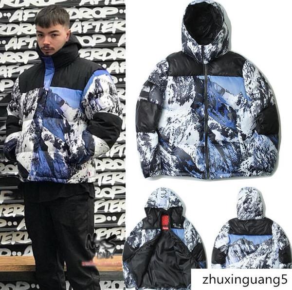 Açık Kar Dağ Baltoro Kış Ceket Parkas Pamuk-yastıklı Aşağı Ceketler Erkek Kadın Kış Ceket Yelek Sıcak Coat Kalınlaştırmak