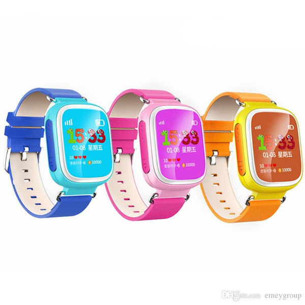 Q80 Kids GPS Smart Watch Wristwatch SOS Call Location Finder Locator Device GPS Tracker for Kid Safe Anti Lost Monitor Baby Gift