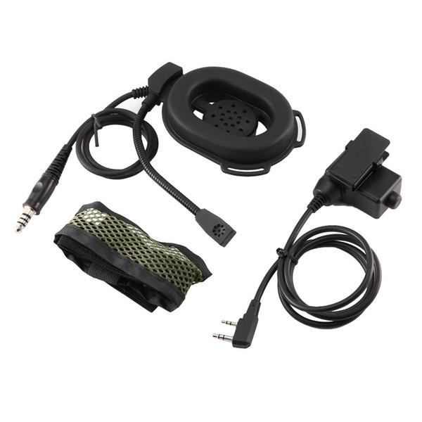 2-контактный наушник с микрофоном Ptt наушников гарнитуры для Baofeng Uv5r 888 S радио