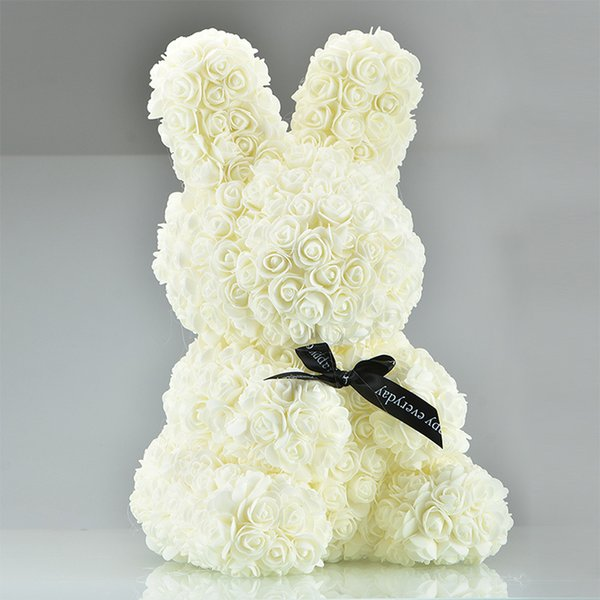45cm beyaz tavşan