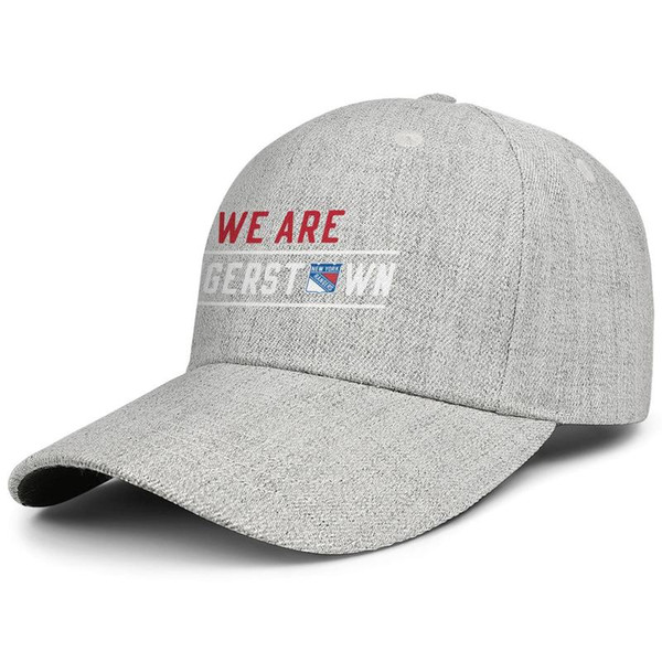 New York Rangers we are rangers Men Women Wool Visor cap Fashion designer caps snapback Adjustable Sun hat Outdoor