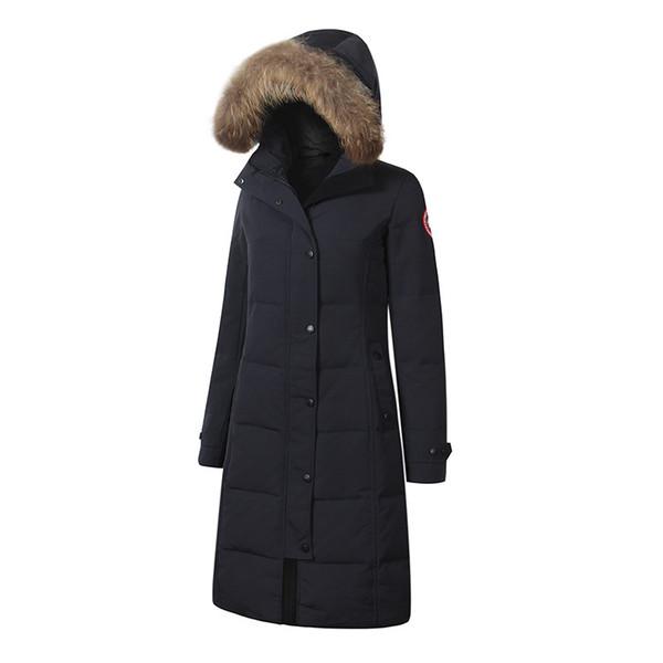 le donne di qualità moda sport all'aria aperta Nuovo CANADA sport all'aria aperta giacca con cappuccio impermeabile antivento sci alpinismo vestiti di trasporto