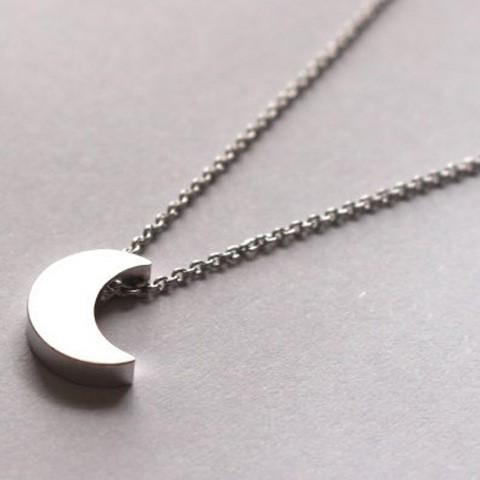 Natural phenomena pendant necklace Moon pendant necklace Pendant necklace for women