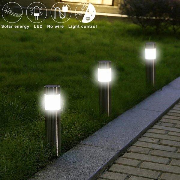 100lm Étanche Lampes Solaires Plug-in Type De Sol De Jardin Décoratif Énergie Solaire Extérieur Cour Cour Chemin Lampes