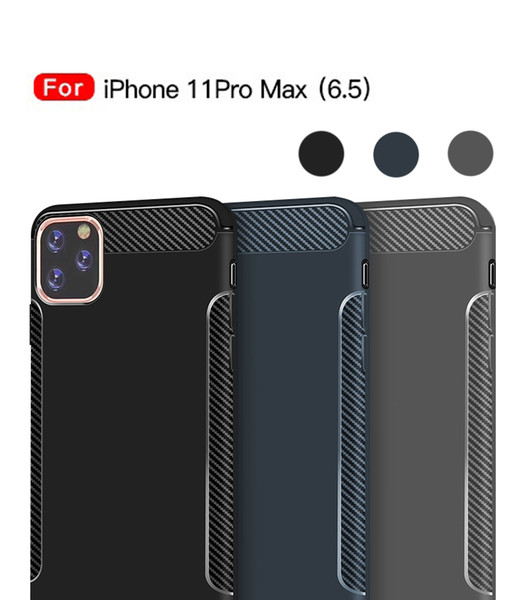 Case For iPhone XS Max TPU ultra-thin Phone Case Apple iPhone 11 Pro Max XR 8 7 plus protative Phone Cover solid color