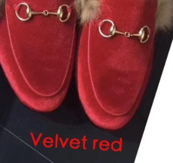 Velours rouge