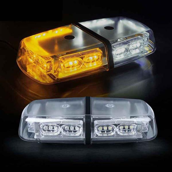 Gen 3 Weiß Gelb Gelb 36 LED 18 Watt High Intensity Law Enforcement Notfallwarn Flash-LED-Mini-Bar Strobe Lig
