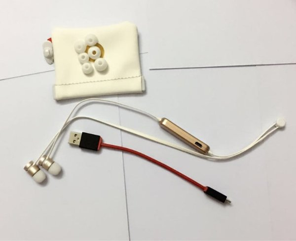 Cuffia stereo senza fili UR BT S Auricolare bluetooth con cancellazione del rumore in-ear per iPhone ipad samsung LG Smart phone Trasporto di goccia