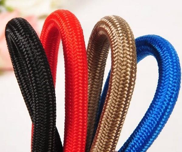 Nagelneu Nylon Hundeleine Einstellbare Hundetraining P Leine Zugseil Bleiband Hundehalsband 3 Farben 3 Größen für wählen