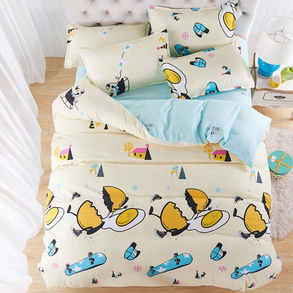 Bedding Set Adult Kids Child Soft Bed Linen Quilt Comforter Duvet Cover Single Full Double Queen Super King Size 24
