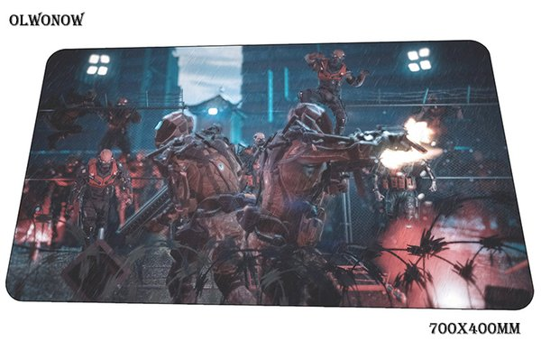 warface mouse pad thick Computer mat 70x40cm gaming mousepad large locked edge padmouse keyboard games pc gamer desk