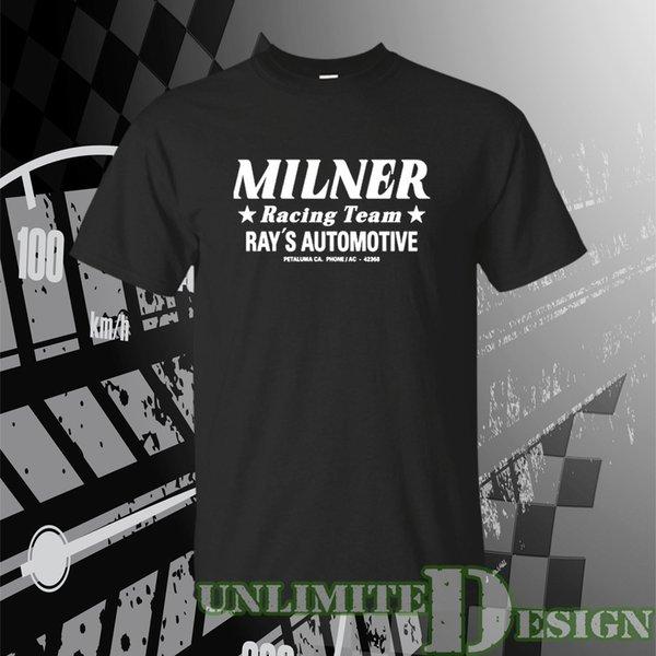 Автомобильная футболка Milner RACING TEAM американского граффити Джона Милнера Team Ray