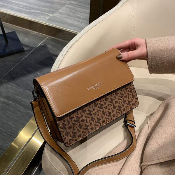 Sac de femmes 2019 automne et en hiver nouveau sac Messenger personnalité coréenne vague épaule de mode sauvage petit sac carré