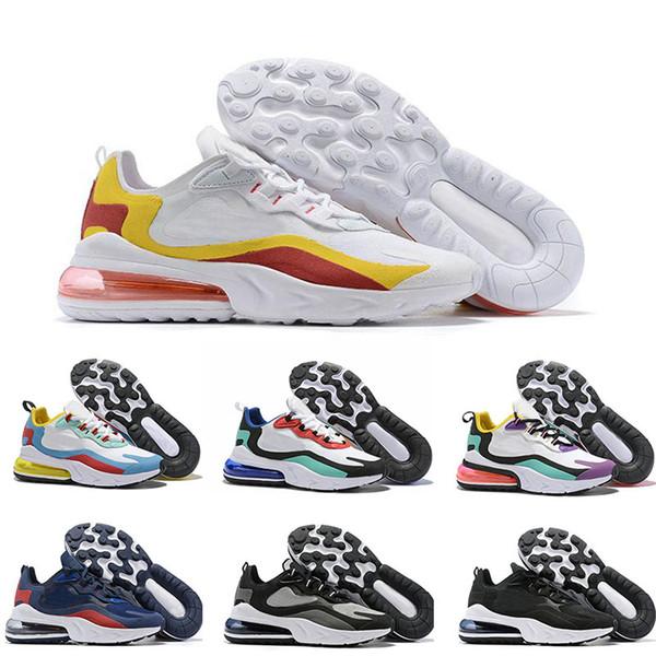 2019 Men Running Shoes 27c Summer Gradients Triple Black Regency Purple Breathable 27c React Mens Trainers Designer Sports Sneakers