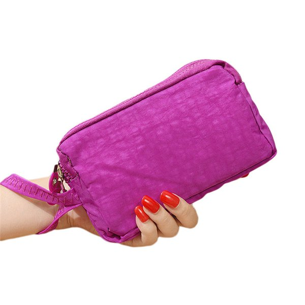 Lady Phone Wallet Package 3 Layers Handbag Cross Section Clutch Bag Large Capacity Valentines Gift for Women Girls