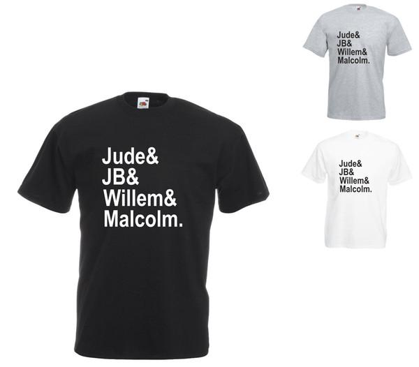 A Little Life Book Character Names Printed T-Shirt Adult Sizes denim clothes camiseta t shirt cattt windbreaker Pug