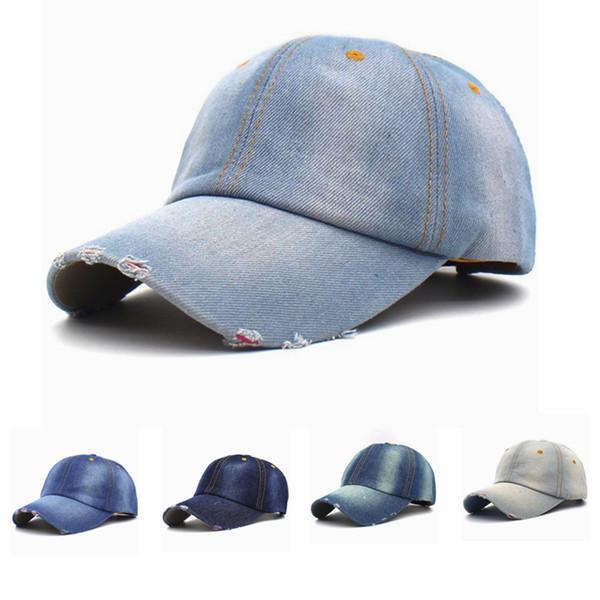 Vintage Unisex Cowboy Baseball Cap Causal Men Sport Camping Snapback Hats Outdoor Woman Jeans Travel Sun Hat TTA1125