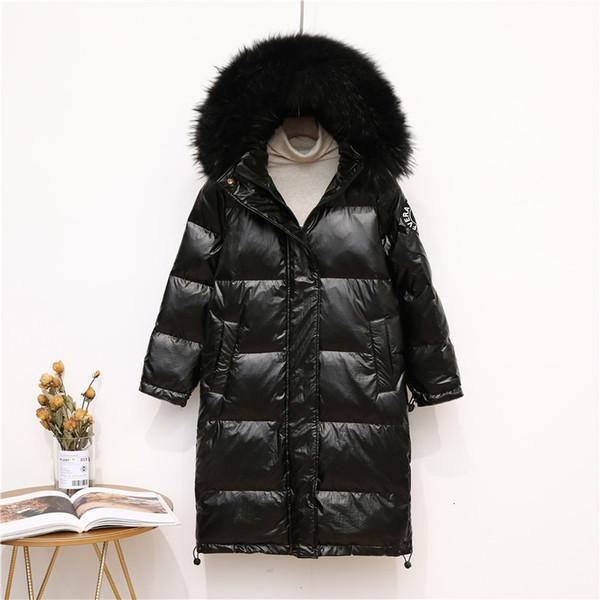 черное пальто черный меховой