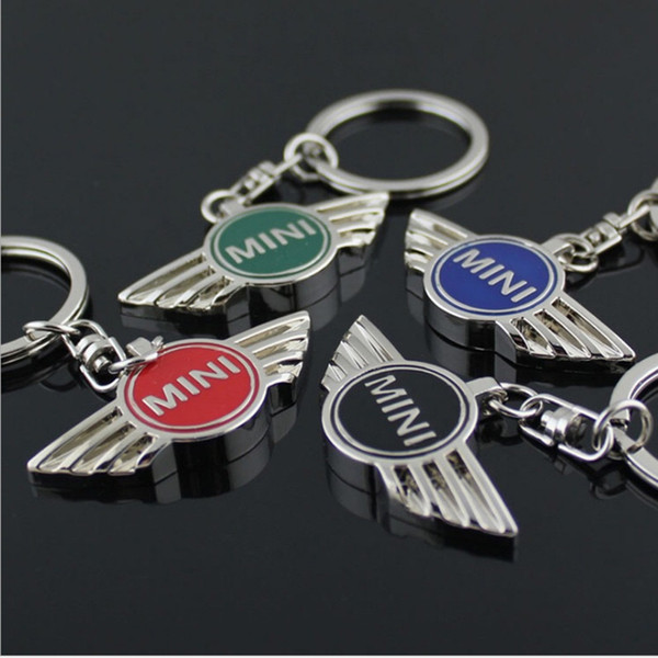 Pendant Alloy Car Keyring Keychain Chain Auto Key Ring Holder For Mini Cooper Countryman Cabrio Jcw Clubman r50 r53 r56 C19011001
