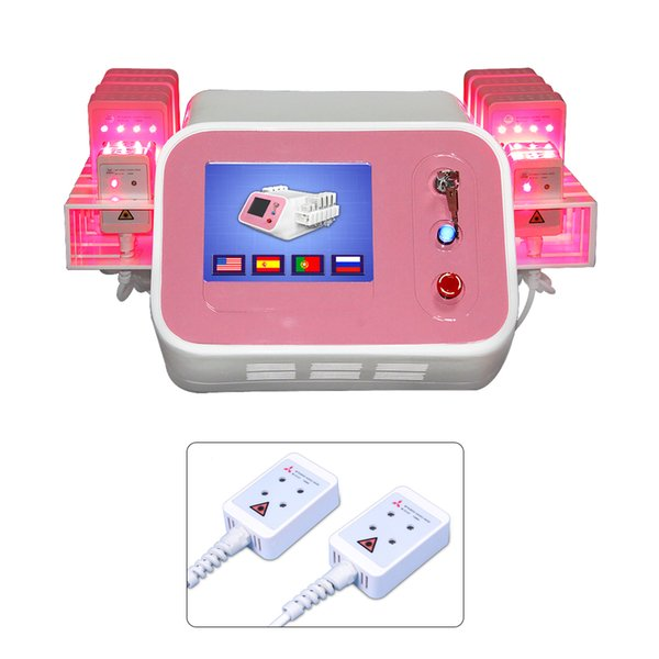 Portable 12 pads diode lipo laser fat burning beauty equipment salon use lipolaser for Body Slimming Weight loss lipolaser device