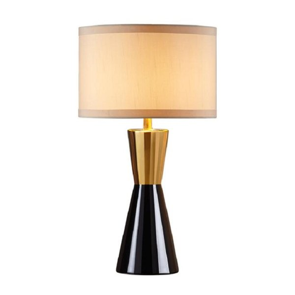 LUXURY FABRIC COVER TABLE LIGHTING FOR LIVING ROOM MODERN NORTH EUROPE  STYLE CERAMIC TABLE LAMP BEDROOM LAMP FOR HOME LIGHTING Chandelier Lamps ...