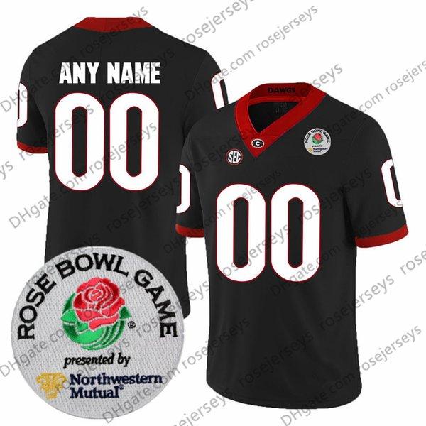 Nero con patch Rose Bowl