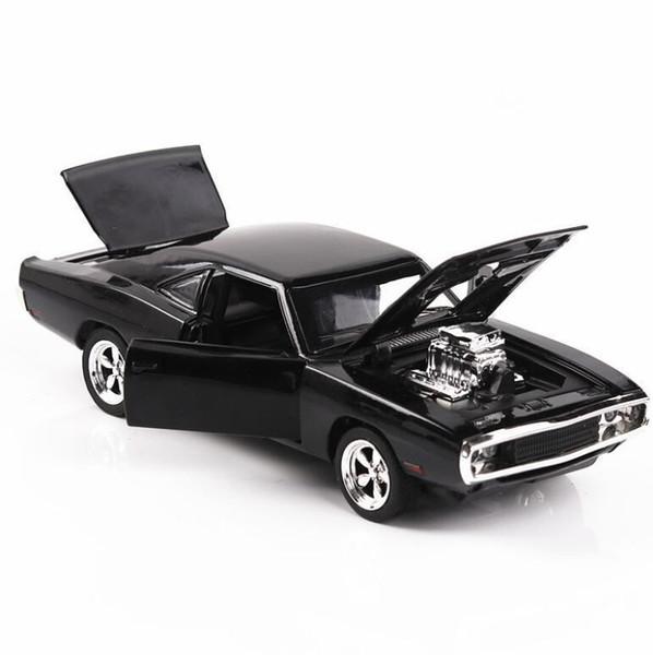 1/32 Di pronostican vehículos de juguete rápidos y el modelo de Dodge furioso con Soundlight Collection Car Toys para niños regalo de niño Q190604