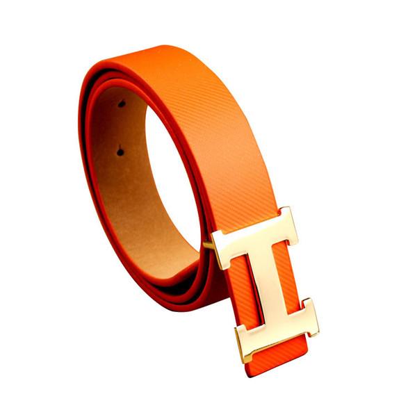 2018 Sup Design belts for Men Brand Letter belt Women Fashion Designer Belt Luxury Cow Genuine Gold Silver Smooth buckle belt for men free