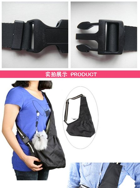 Pet Carrier Bag Oxford Cloth Dog Cat Carrier Single Shoulder Bags Warm Winter Dog Front Chest Carrier Sold by Chengyuw2018