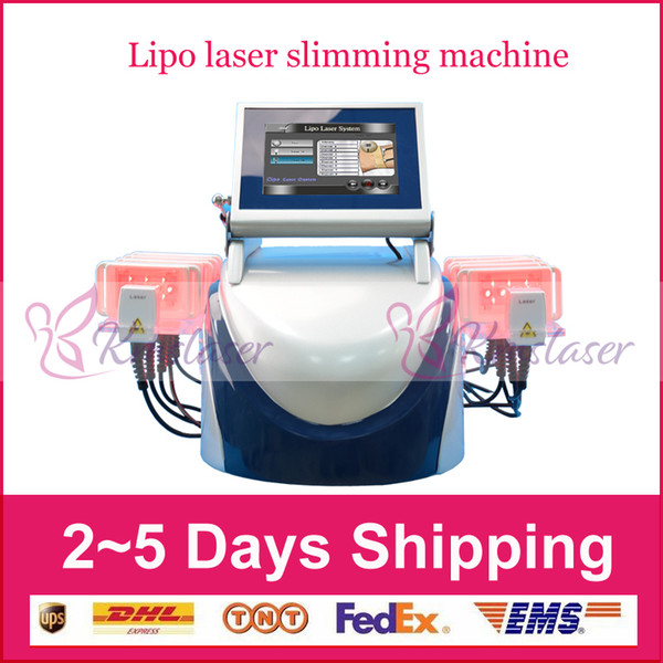 HOT !!! 10 stücke pad ZERONA Diode lipo laser lipolaser abnehmen ausrüstung gewichtsverlust maschine