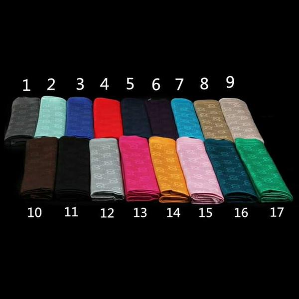 Sciarpa delle sciarpe delle donne calde del modello della lettera della sciarpa di marca di qualità Qualtiy 2017 Sciarpe calde delle sciarpe di disegno del cotone del cotone di inverno Dimensione 180x70cm
