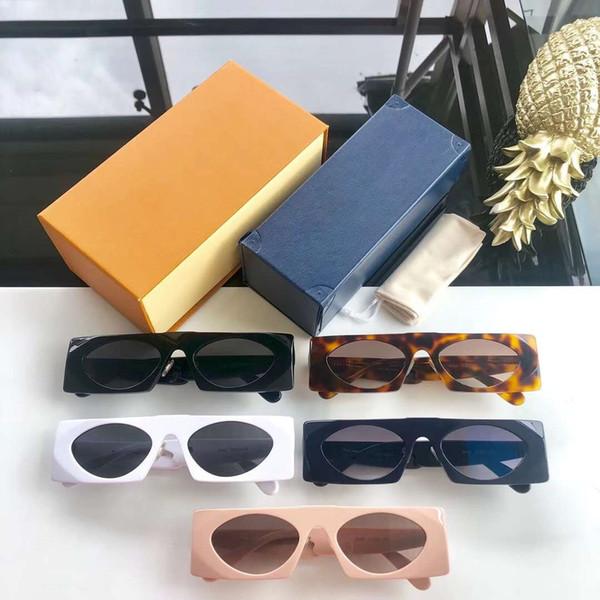 Occhiali da sole firmati Occhiali da sole di lusso Modello L1235 per uomo Donna Occhiali da vista alla moda UV400 Moda Estate Alta qualità con scatola