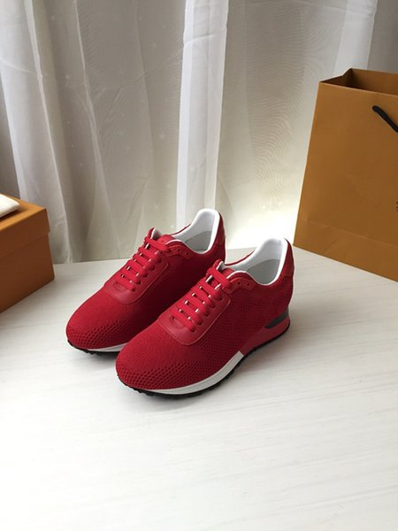 quality luxury brand designer shoes new Knitting fabric are breathable and comfortable Hot seller, men shoes womens shoes free delivery N198