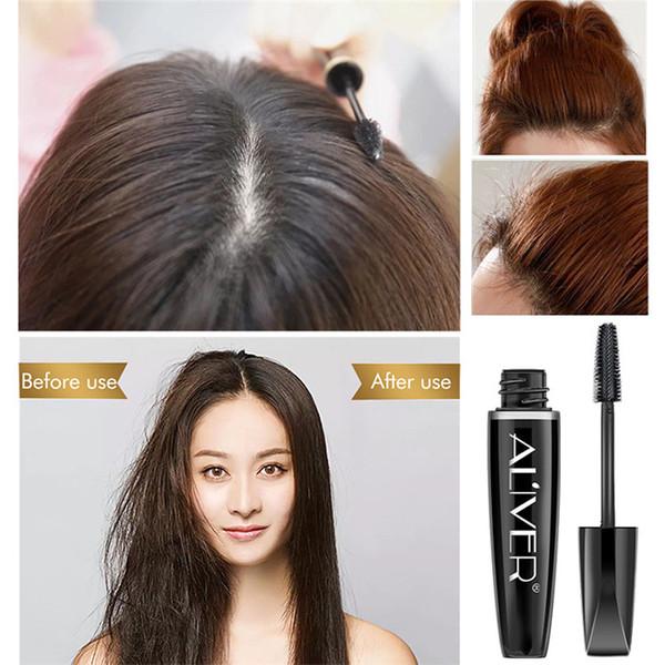 best selling ALIVER Broken Hair Finishing Cream Stick Small Broken Hair Refreshing Shaping Gel Cream Hair Wax Stick Fixing Bang Free DHL 60pcs