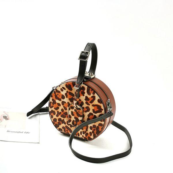 HangBags for Women 2019 New Type of Small Round Packed Small Box I Luxury Handbags Women Bags Designer