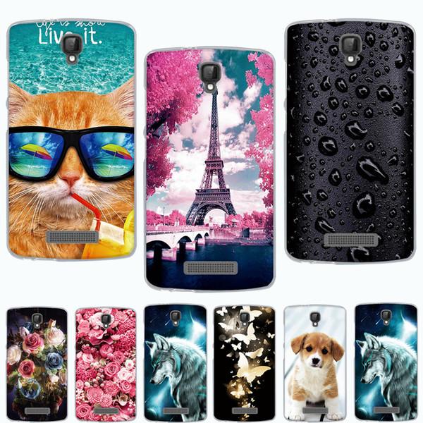 Phone Blade 5/L5 Plus Silicon Cover ZTE Blade L5 Case Soft TPU Fundas for