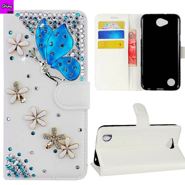 Diamond Flip Leather Phone Cover Case For Samsung Galaxy S10 Plus S10 Lite S8 S9 Plus Note 9 8 5 J4 J5 J6 J7 A5 A8 A7 2018 Girl