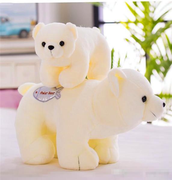 20170601 Polar Doll Animal Plush Toy Simulation Little White Bear Girl Birthday Gift Safety And Innocuityt