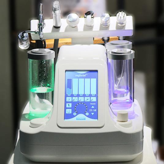 NOUVEAU Salon Hydra-facial de la station thermale Microdermabrasion de station thermale pour le rajeunissement de la peau Jet d'oxygène de l'eau Peeling soin du visage instrument de beauté ultrasonique