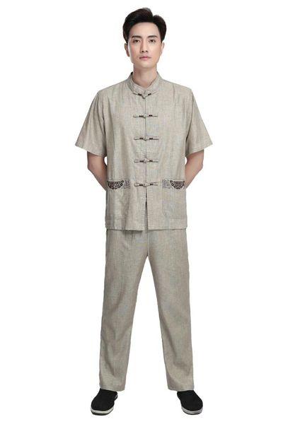 História de Xangai kangfu kungfu terno verão kung fu uniformes manga curta tai chi wu shu clothing para homens