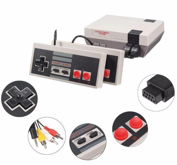 Console de jeu rétro 620 avec contrôleur câblé double Jeu de rétroaction 620 jeux de poche lecteur de jeu vidéo Garantie 12 mois