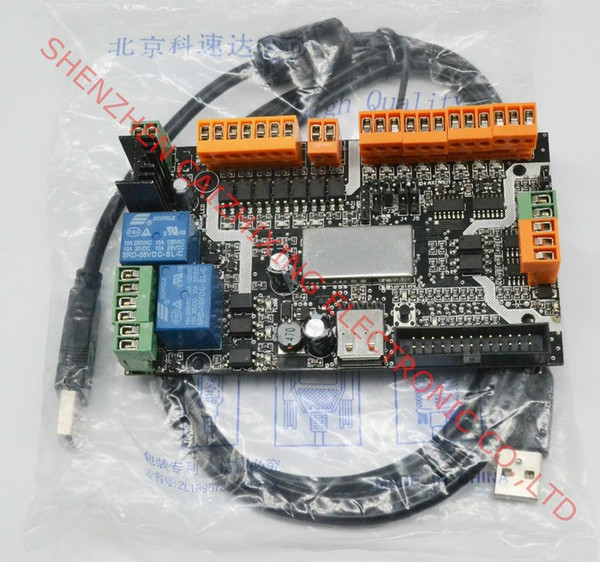 Freeshipping Latest product USB cnc with usbcnc plant license ,MDK1/4 Axis USB CNC Card Controller Interface Board USBCNC Replaceable