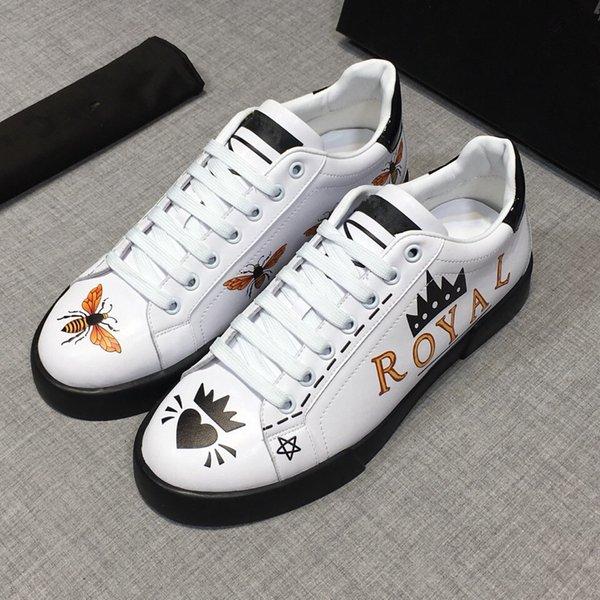 Top Marque Causal Chaussures Arena Baskets Chaussures Appartements Mode Chaussures En Cuir Véritable, À L'extérieur Des Entraîneurs Robe Chaussures De Soirée