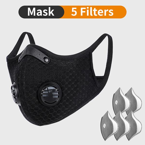 Mask with 5 Filters