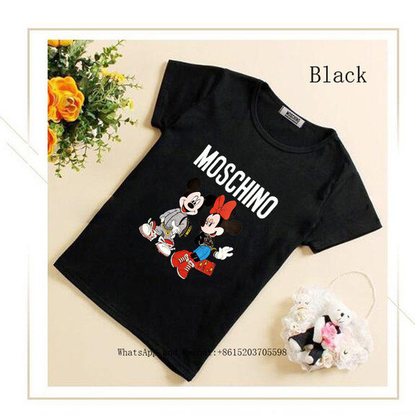 T 2019 New Pattern Girl Half Sleeve Jacket Children's Clothes Middle-sized And Small Children Female cute T-shirt Summer Wear Korean Edition
