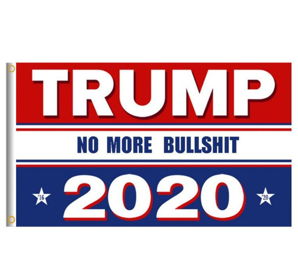 top popular Donald Trump 2020 Flag Letter Support Oppose Donald Trump President USA 90*150cm Big Hanging Trump 2020 Flying Flag 5 Styles 2019