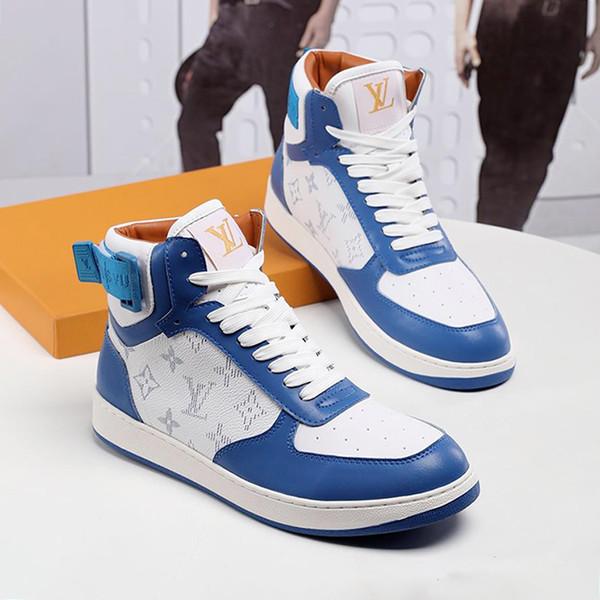 Мужская обувь дышащая Footwears люкс Фитнес Спортивные тренажеры Дизайн с оригинальной коробке Rivoli Sneaker загрузки Продажа Мужская обувь моды сапоги